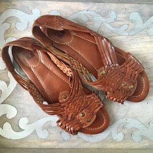 Frye huarache sandals sz 10